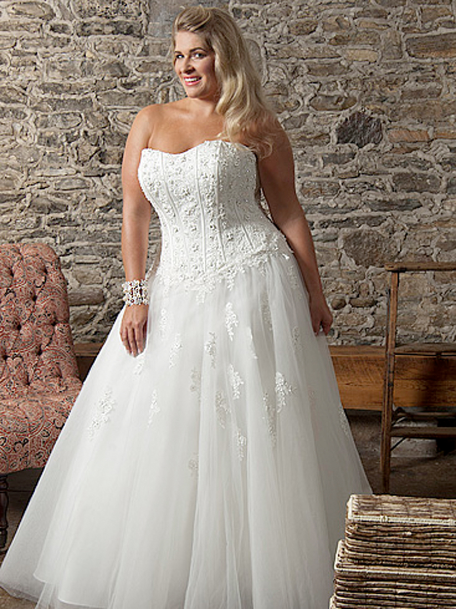 HD wallpapers plus size wedding dresses with sleeves in uk
